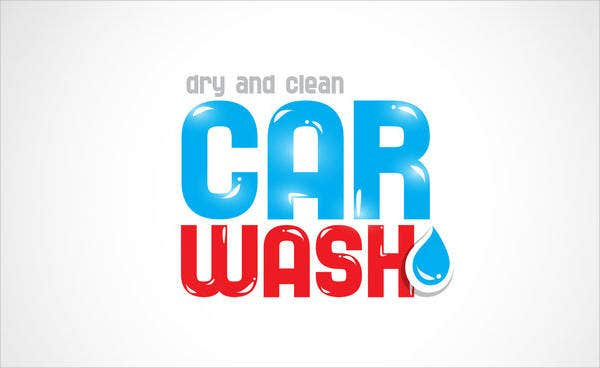 Car Wash Company Logo