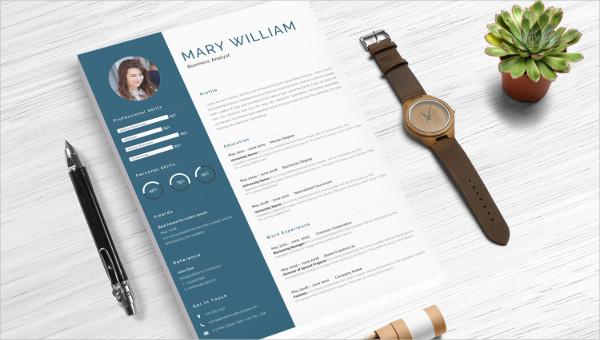 finance resume templates