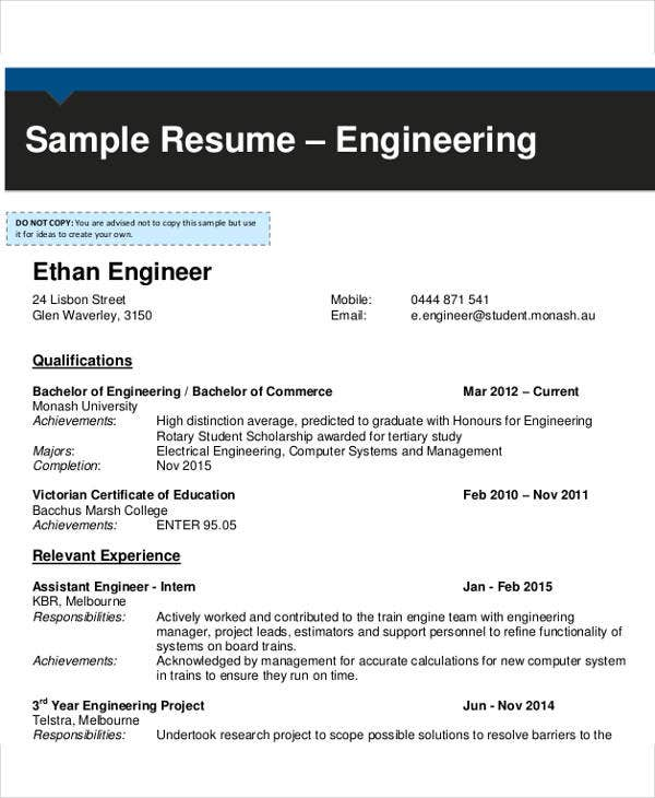 it system engineer resume2