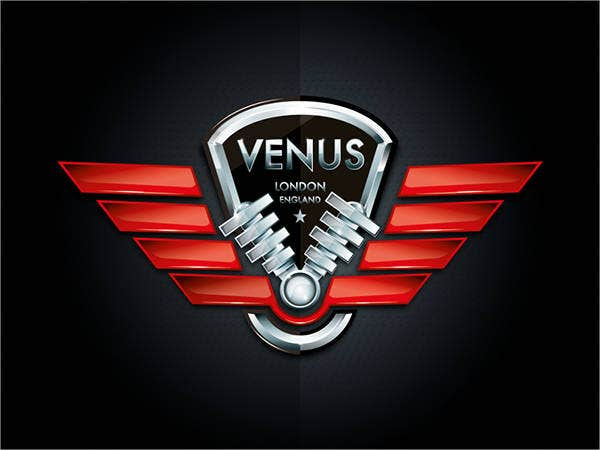 car company logo with wings