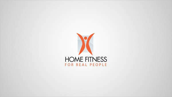 Fitness Home Business Logo
