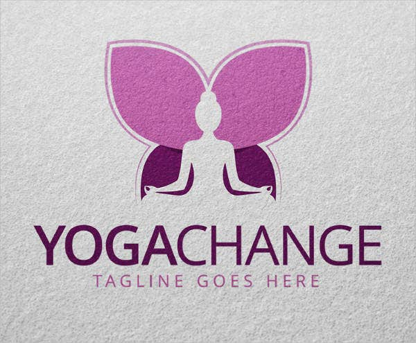 Yoga Fitness and Wellness Logo