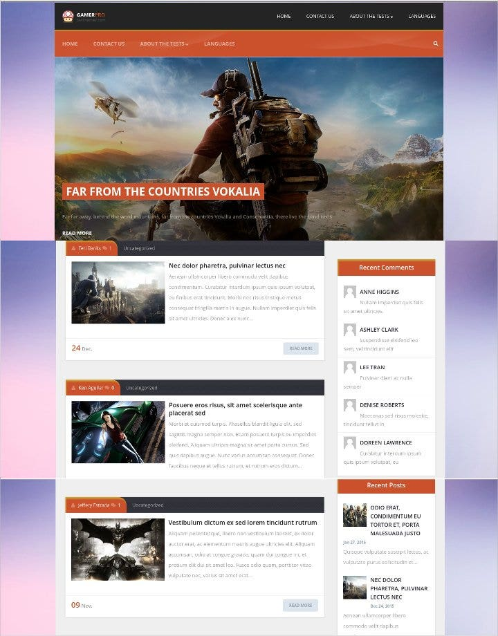 wordpress-theme-game-designer