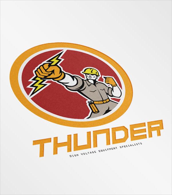 free-electrical-lineman-logo