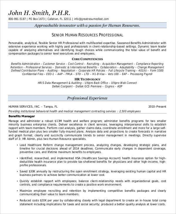 20 Executive Resume Templates