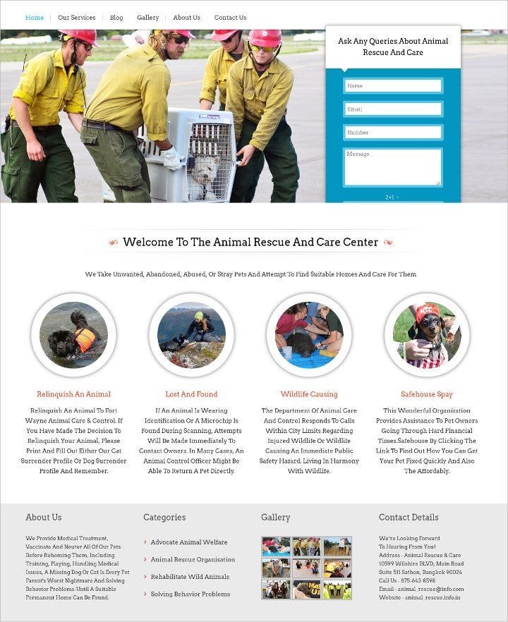 animal-rescue-and-cdrupal-themeare-wordpress-theme