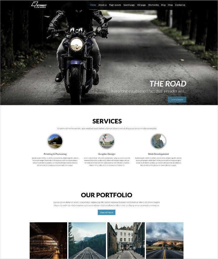 fully-customized-wordpress-theme