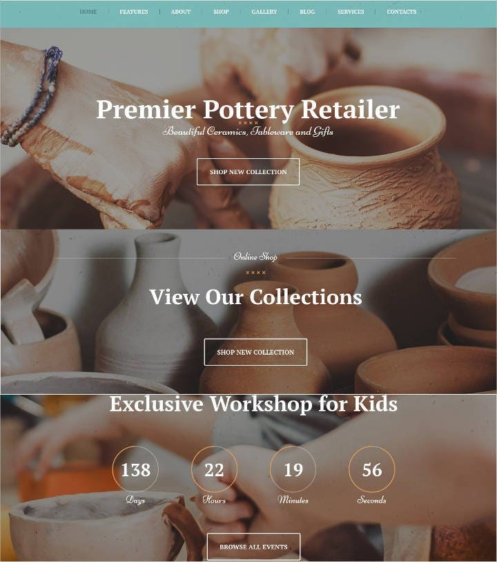 pottery-wordpress-theme