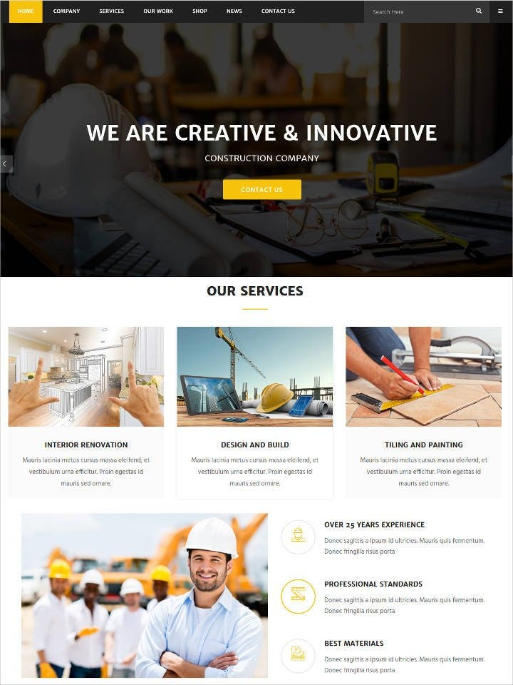 renovation-wordpress-theme