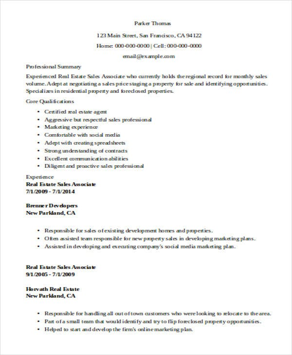 51  sales resume examples
