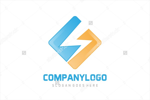 modern electrical logo design