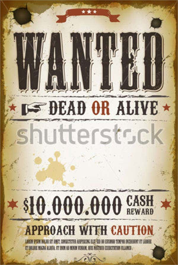 18 wanted poster design templates in psd free premium for Wanted pirate poster template