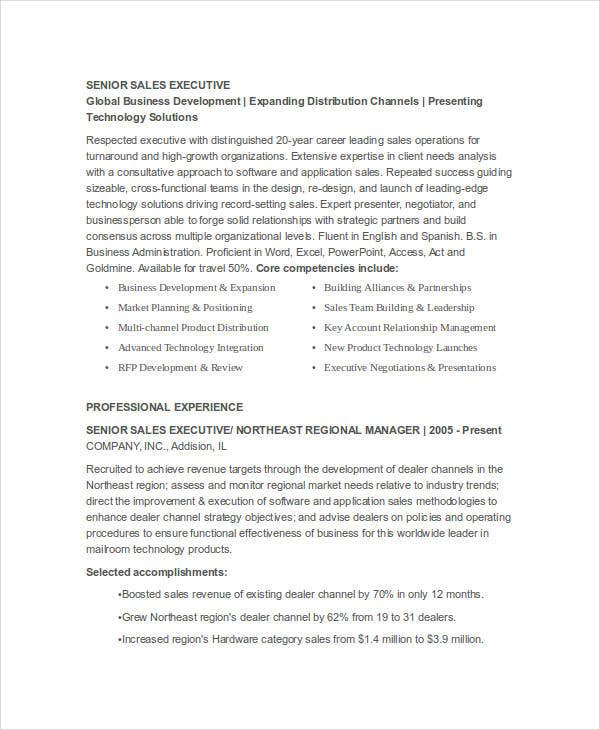 senior sales executive resume7