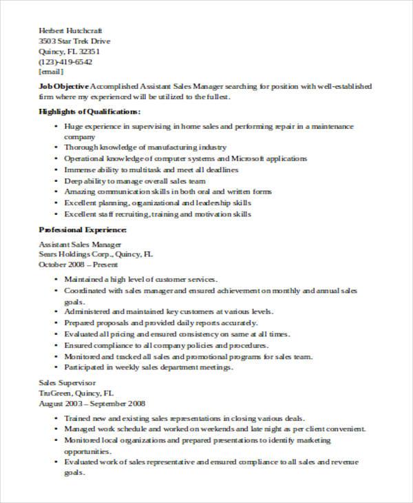 51 sales resume exles free premium templates