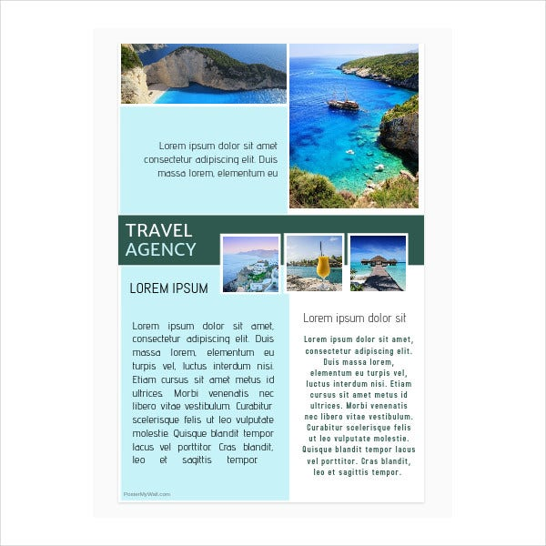 free travel agency poster1