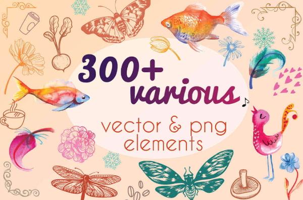 vector-png-elements
