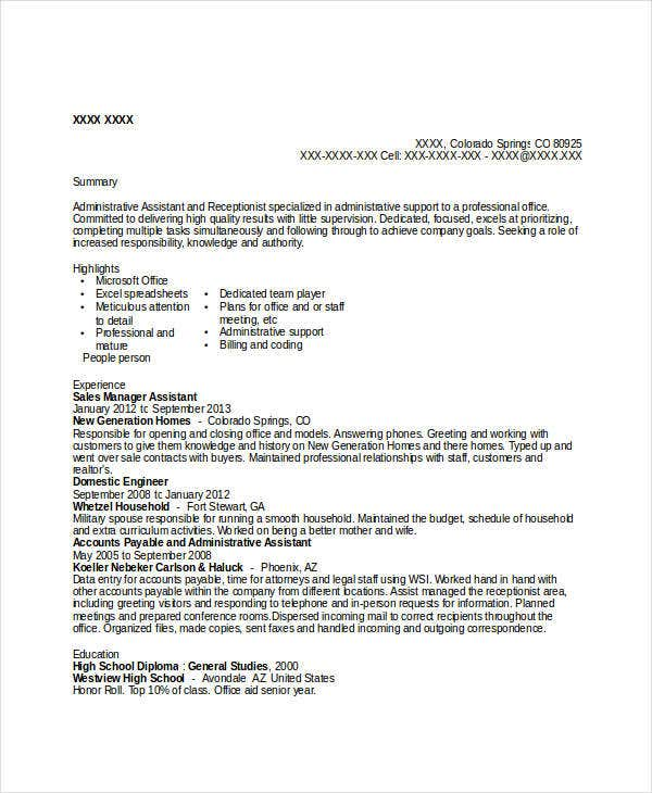 professional sales resume templates 31 free word pdf