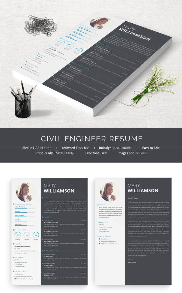 one page engineering resume sample