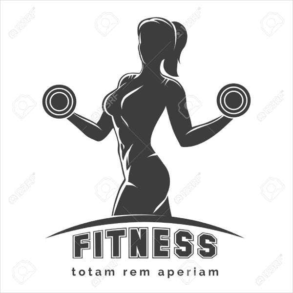 Ladies Muscle and Fitness Logo