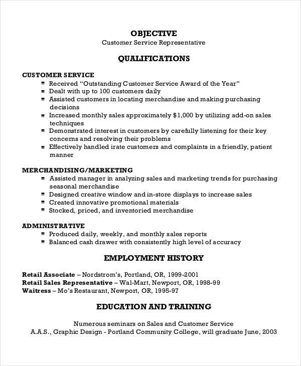 30  free sales resume templates