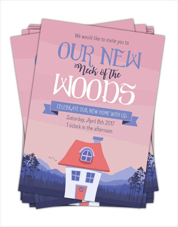 Printable Housewarming Ceremony Invitation