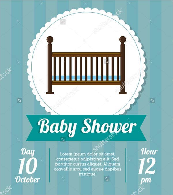 baby cradling ceremony invitation