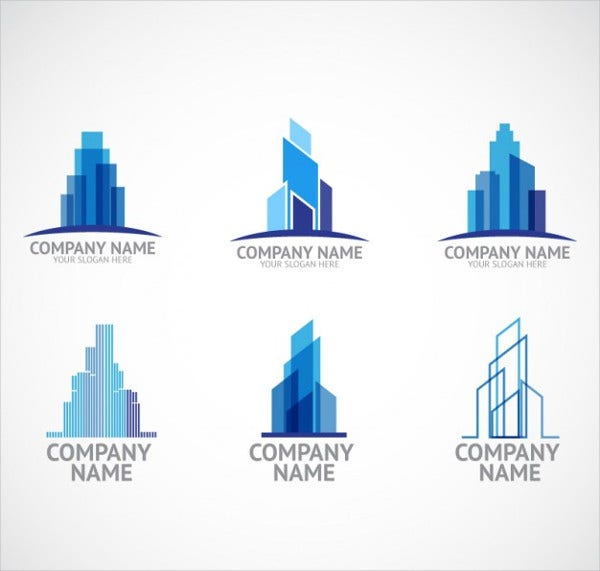 construction company logo psd