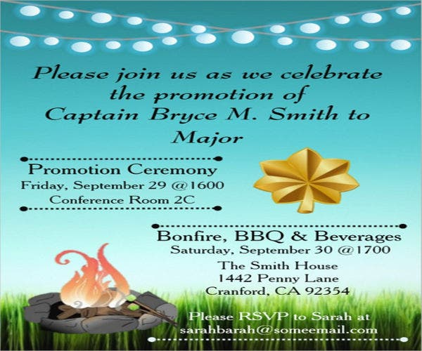 military-promotion-ceremony-invitation