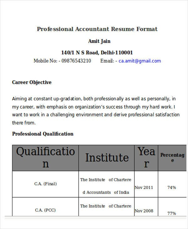 professional accountant resume format4