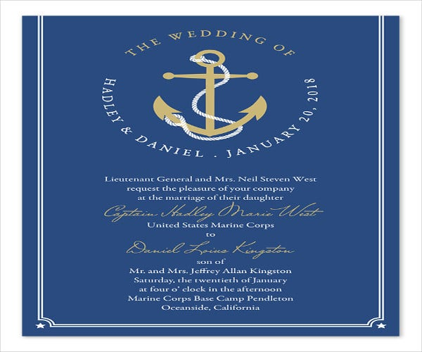 military-event-ceremony-invitation