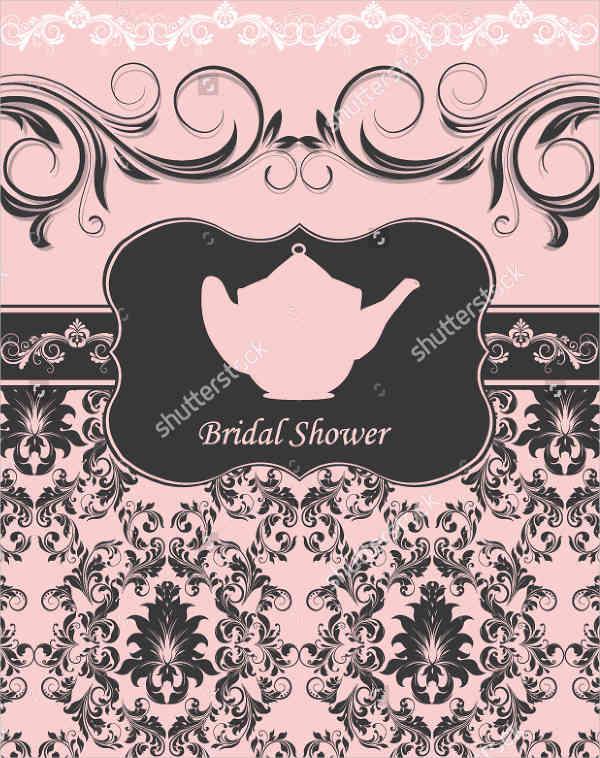 Tea Bridal Shower Ceremony Invitation