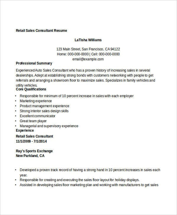 cover letter for sales consultant View this sample cover letter for a sales representative, or download the sales cover letter template in word.
