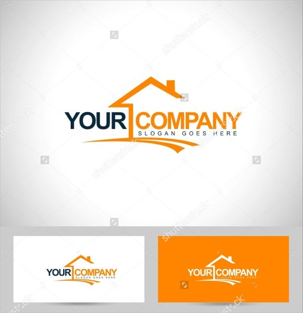 home real estate company logo