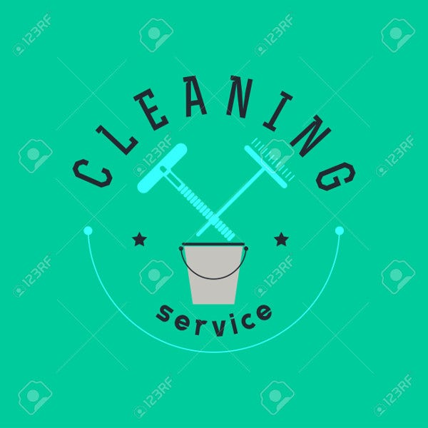 free cleaning company logo
