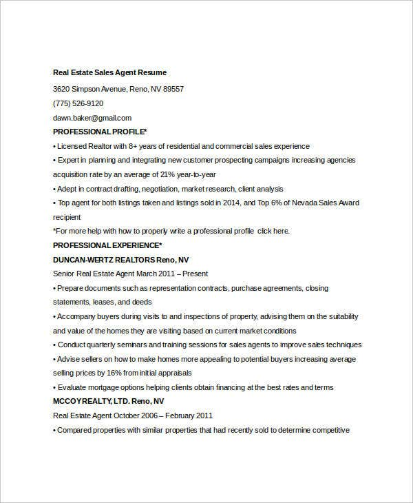 Free Sales Resume - 48+ Free Word, Pdf Documents Download | Free