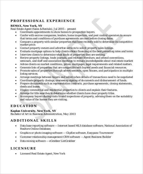 Free Sales Resume   Free Word Pdf Documents Download  Free