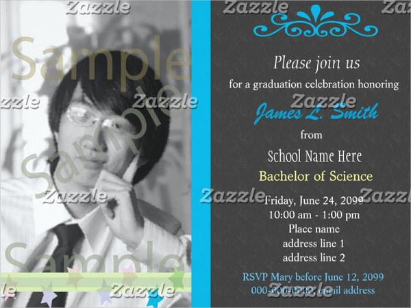 college graduation ceremony invitation