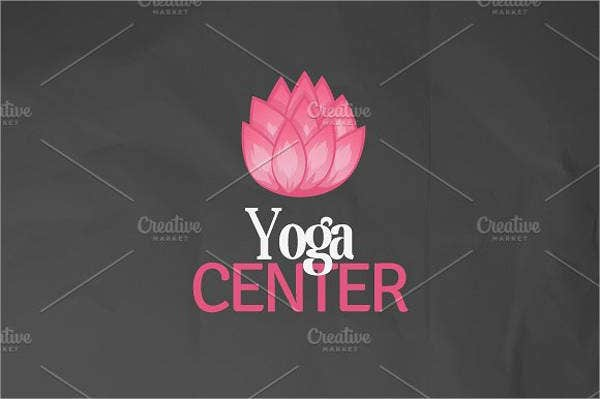 Fitness and Yoga Center Logo