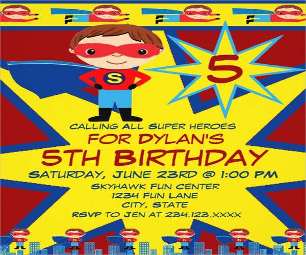 lego super hero ceremony invitation