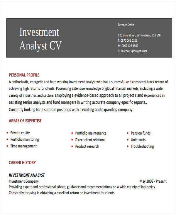 22 banking resume templates free premium templates