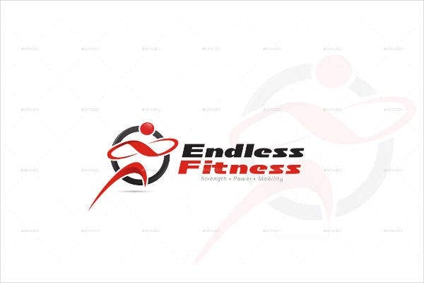 Fitness Marketing Business Logo