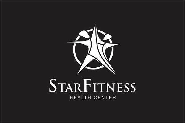 Abstract Modern Fitness Logo