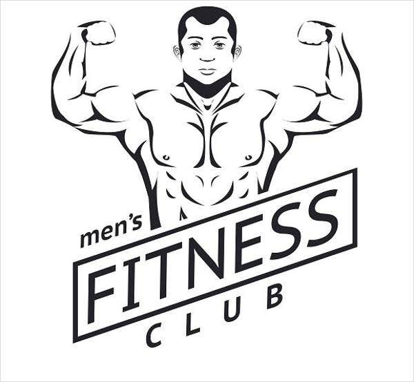 Fitness Man Training Logo