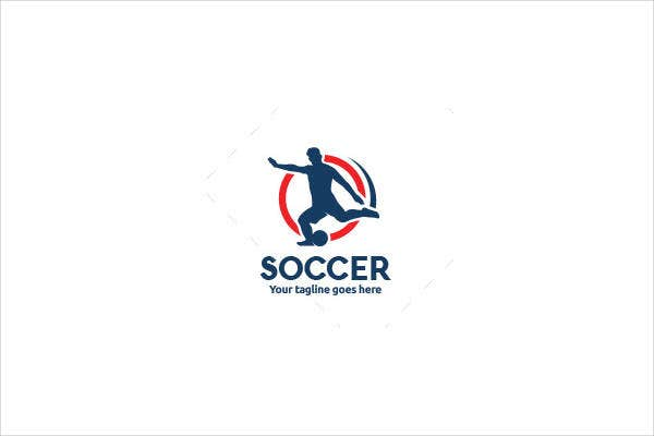 Fitness Coach Football Logo