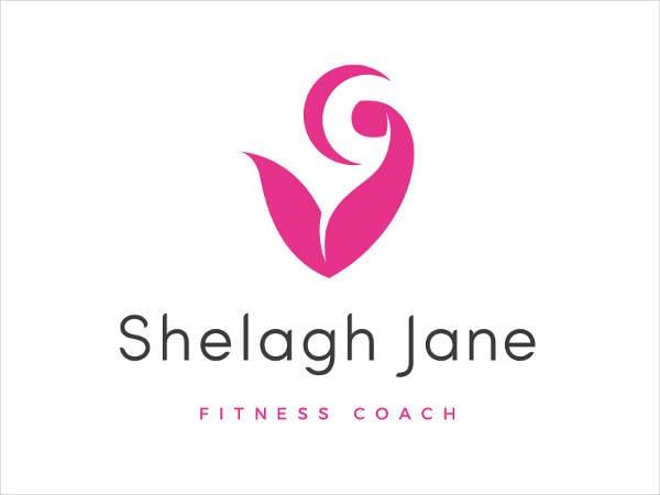 Elegant Fitness Coach Logo