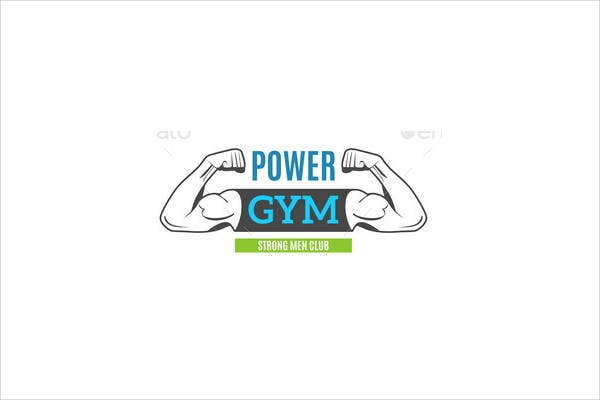 Fitness Advertising Logo Vector