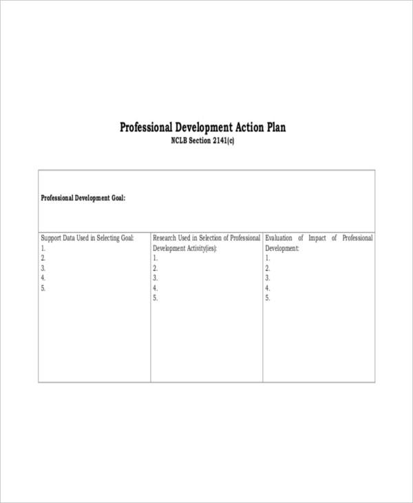 business development action plan