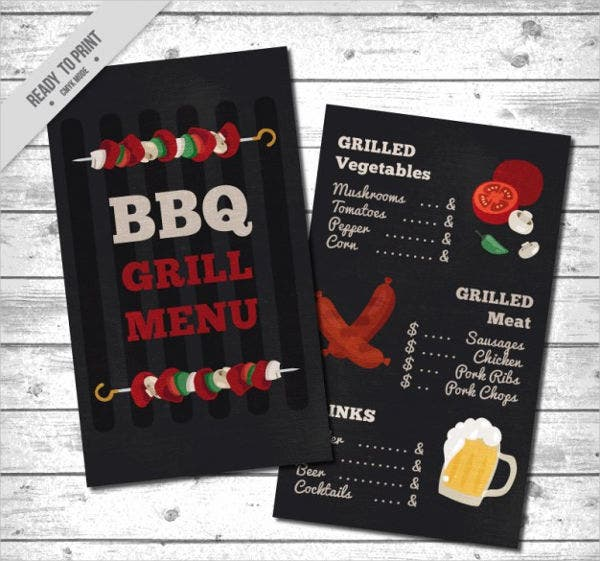 bbq pool party menu2