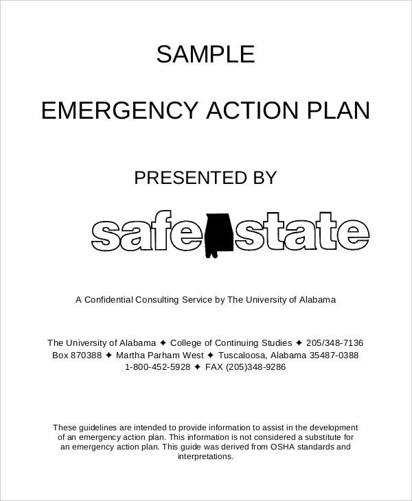 fire emergency action plan