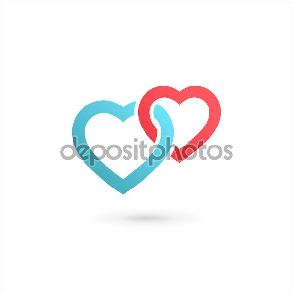 wedding-hearts-vector-logo